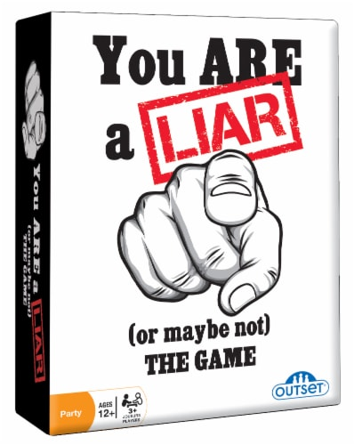 You Are A Liar (Or Maybe Not) The Game Party Game Perspective: front