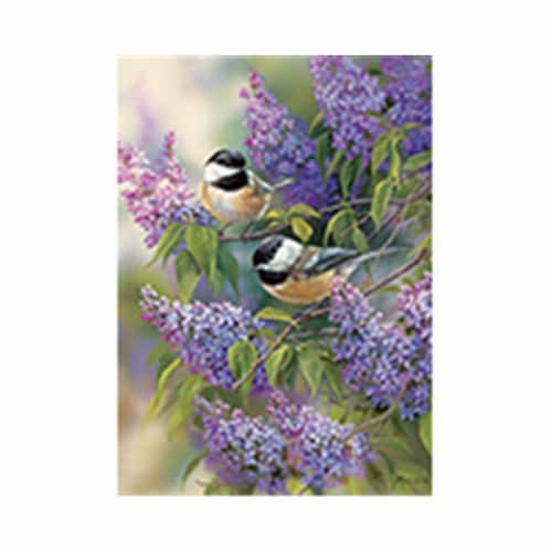Outset Media Games OM58877 Chickadee Duo Puzzle Tray, 35 Piece Perspective: front