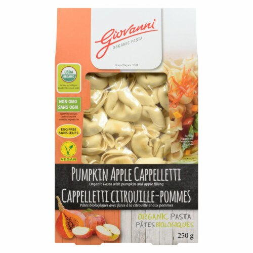 Giovanni Organic Pumpkin and Apple Cappelletti Perspective: front