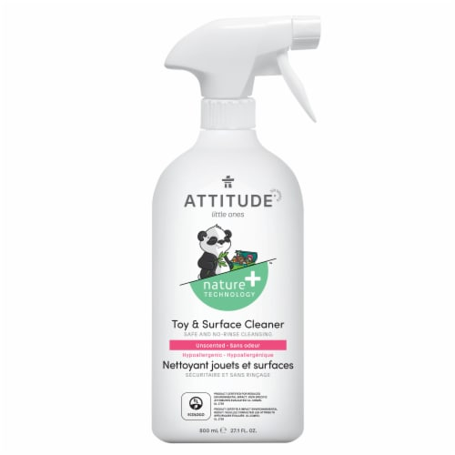 Attitude Little Ones Toy & Surface Cleaner Perspective: front