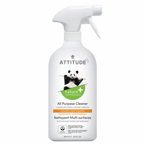 Attitude Citrus Zest All Purpose Cleaner Perspective: front
