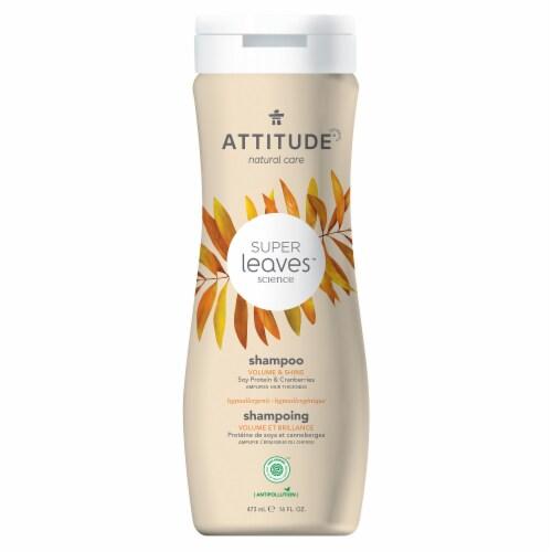 Attitude Super Leaves Volume & Shine Shampoo Perspective: front