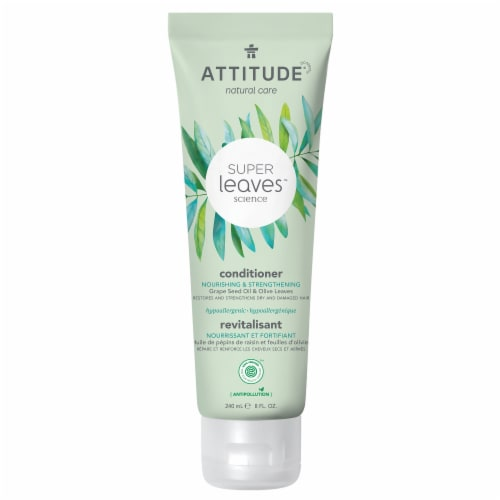 Attitude Super Leaves Nourishing and Strengthening Conditioner Perspective: front