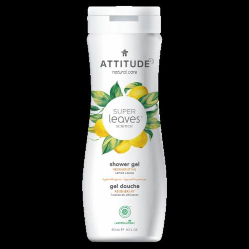 Atiitude Super Leaves Lemon Regenerating Shower Gel Perspective: front