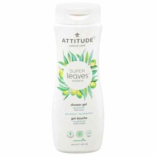 Attitude Super Leaves Olive Nourishing Shower Gel Perspective: front
