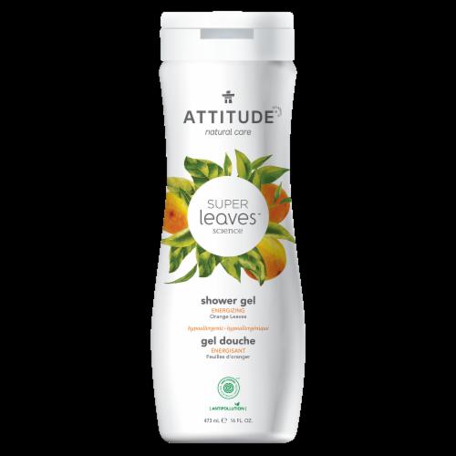 Attitude Super Leaves Orange Energizing Shower Gel Perspective: front