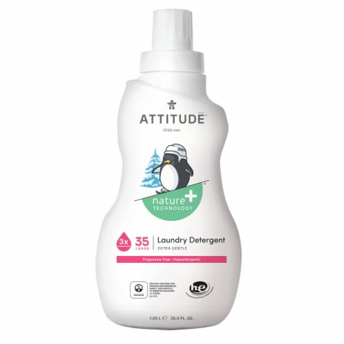 Attitude Little Ones Fragrance Free Liquid Laundry Detergent Perspective: front