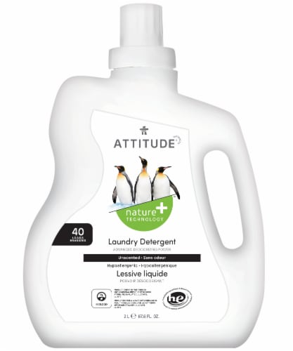 Attitude Laundry Detergent Perspective: front