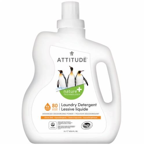 Attitude Citrus Zest Laundry Detergent Perspective: front