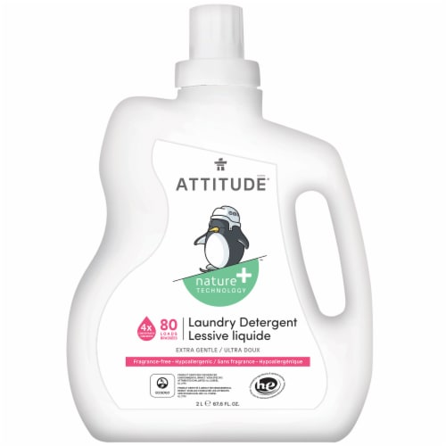 Attitude Fragrance Free Little Ones Laundry Detergent Perspective: front