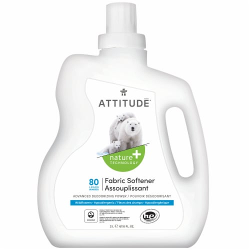 Attitude Wildflowers Fabric Softener Perspective: front