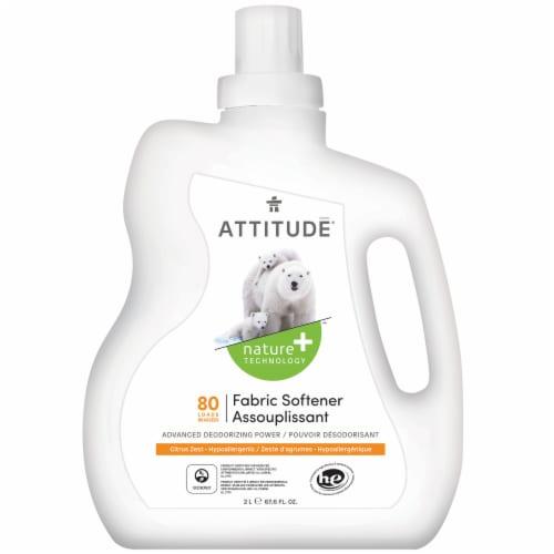 Attitude Citrus Zest Fabric Softener Perspective: front
