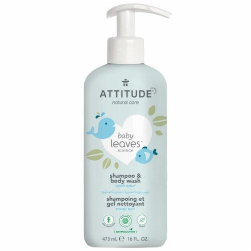 Attitude Baby Leaves Good Night Sleep Shampoo & Body Wash Perspective: front