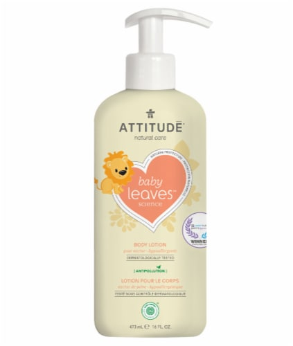 Attitude Pear Nectar Body Lotion Perspective: front