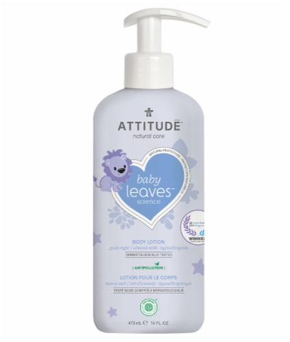 Attitude Night Almond Milk Body Lotion Perspective: front