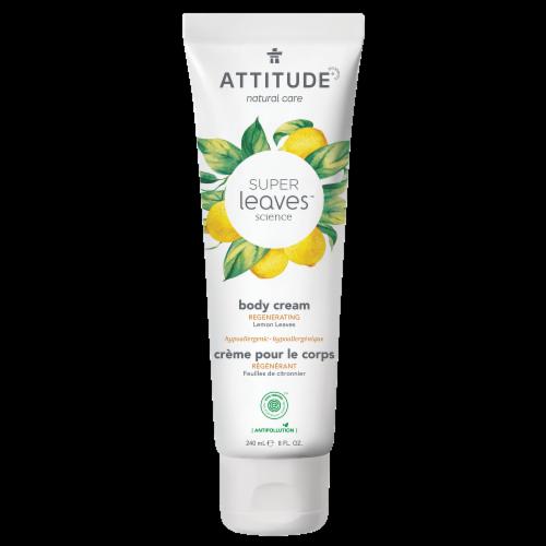 Attitude Super Leaves Lemon Regenerating Body Cream Perspective: front