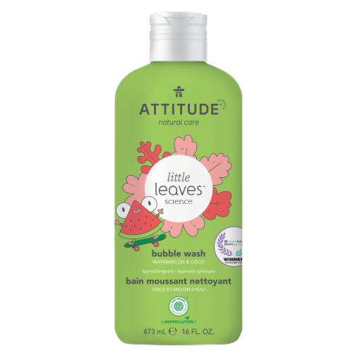Attitude Watermelon & Coco Bubble Wash Perspective: front
