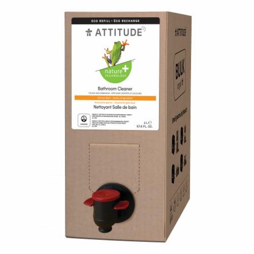 Attitude Citrus Zest Bathroom Cleaner Perspective: front