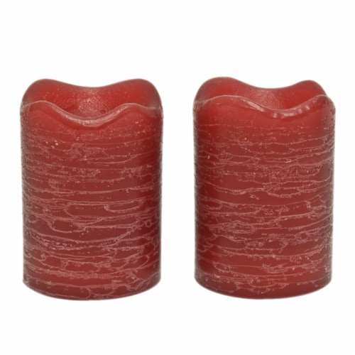Sterno Home Pomegranate Fig Scent Rustic Flameless Votive Candles - Currant Perspective: front
