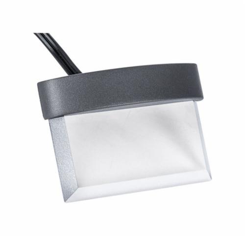 Paradise Lighting 3635141 12 V Dusk to Dawn LED Plastic Stair & Deck Lights - Black  1 watt Perspective: front