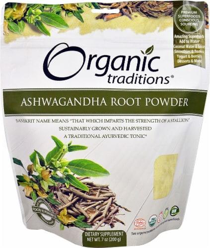 Organic Traditions  Ashwagandha Root Powder Perspective: front