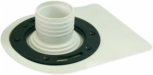 Aqualoq Masterseal Gasket Universal Toilet Seal for Secure Watertight Protection Perspective: front