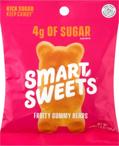 Smart Sweets Fruity Gummy Bears Perspective: front