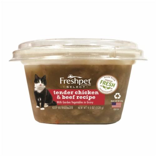 Freshpet Select Tender Chicken & Beef Recipe Cat Food Perspective: front