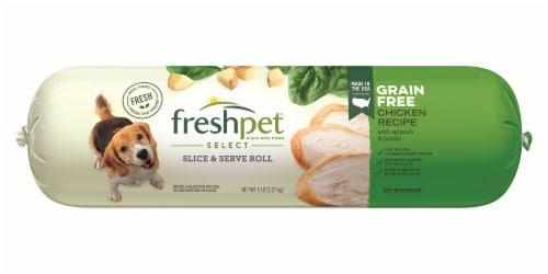 Freshpet Grain Free Chicken Recipe Wet Dog Food Perspective: front