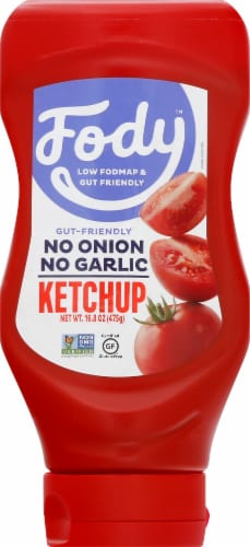 Fody Foods Ketchup Perspective: front