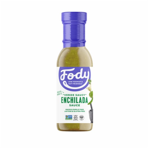 Fody Foods Green Enchilada Sauce Perspective: front
