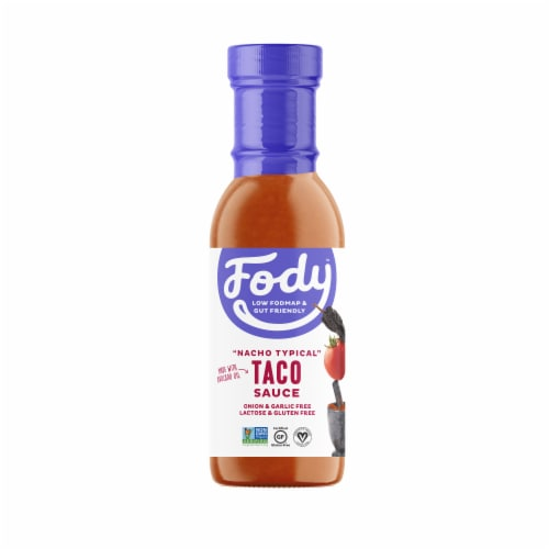 Fody Foods Taco Sauce Perspective: front