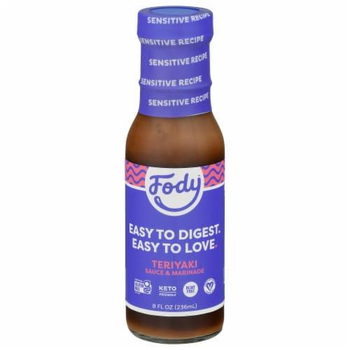 Fody™ Teriyaki Sauce and Marinade Perspective: front