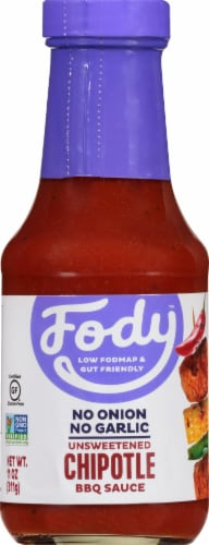 Fody Foods Chipotle BBQ Sauce Perspective: front