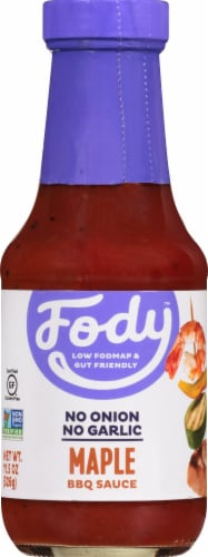 Fody Foods Maple BBQ Sauce Perspective: front