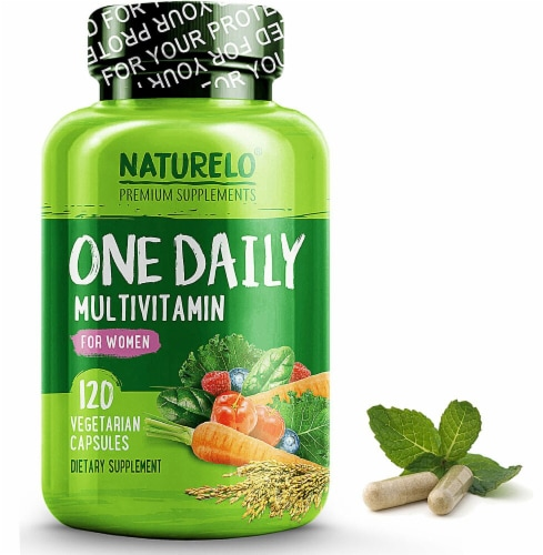NATURELO One Daily Multivitamin for Women Capsules Perspective: front