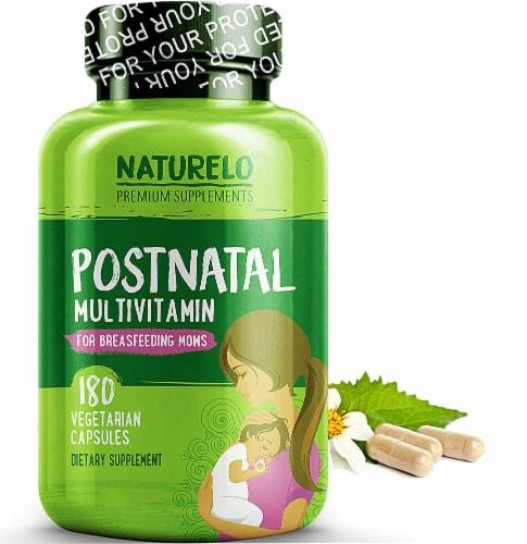 NATURELO Postnatal Multivitamin Capsules Perspective: front