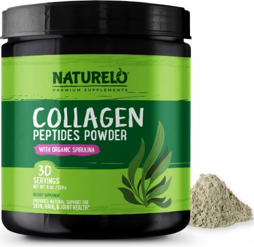 NATURELO Collagen Peptides Powder Perspective: front