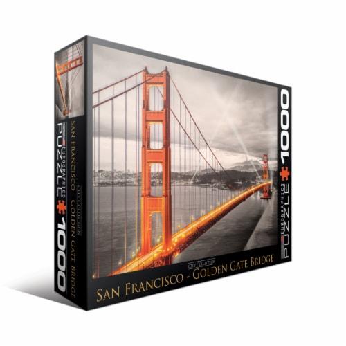 Eurographics Inc City Collection San Francisco Golden Gate Bridge Puzzle Perspective: front