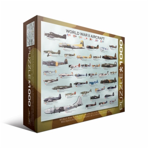Eurographics Inc WWII Aircraft Puzzle Perspective: front