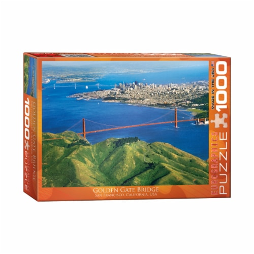 Eurographics Inc Golden Gate Bridge San Francisco California USA Puzzle Perspective: front