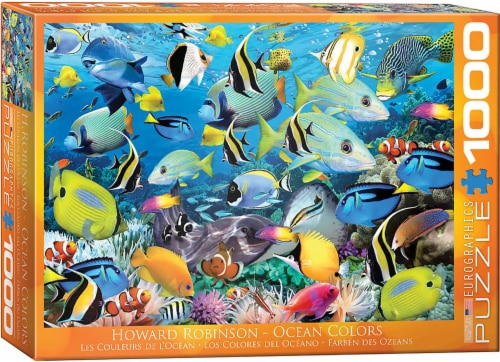 Ocean Colors by Howard Robinson 1000 Piece Jigsaw Puzzle Perspective: front