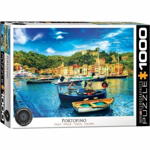 Eurographics Portofino Italy 1000 Piece Jigsaw Puzzle Perspective: front