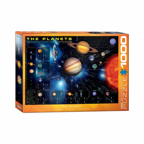 Eurographics Inc The Planets Puzzle Perspective: front