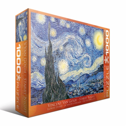 Eurographics Inc Vincent Van Gogh Starry Night Puzzle Perspective: front