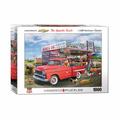 Eurographics Inc Greg Giordano The Apache Truck Puzzle Perspective: front
