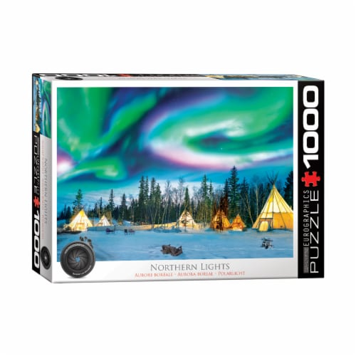 Eurographics Inc Northern Lights Yellowknife Puzzle Perspective: front