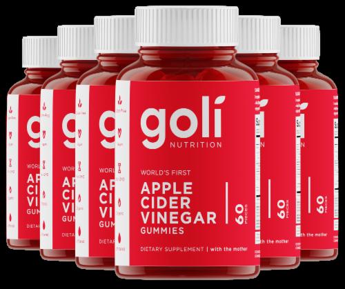 Goli Nutrition Apple Cider Vinegar Gummies Perspective: front