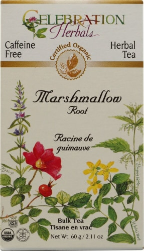 Celebration Herbals  Organic Marshmallow Root Bulk Tea Caffeine Free Perspective: front
