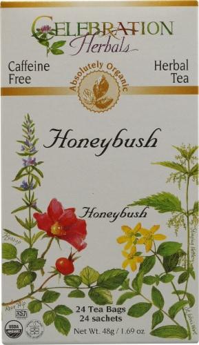 Celebration Herbals Organic Honeybush Tea Perspective: front